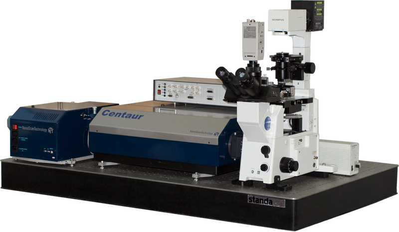 Centaur - AFM, optic microscope, spectrometer