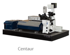 Centaur and Centaur HR - SPM (AFM), Confocal, Raman, Fluorescence System.