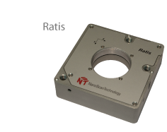Ratis – plane-parallel device for positioning/scanning.